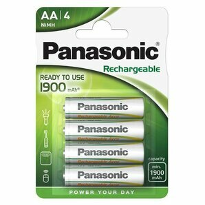 Rechargeable LR6 batteries AA-HR6