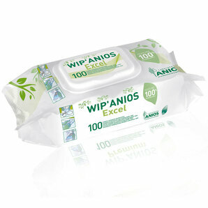 WIP' Anios Excel Disinfecting Wipes (Lot of 6)
