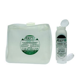 Asept transparent contact gel (5 liter container)