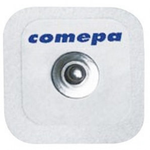 Square pre-gelled electrodes COMEPA 3.02.0200.CA (Box of 500)
