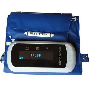 Integrated blood pressure holter on Holter Supplies Cuff - WBP-02-A