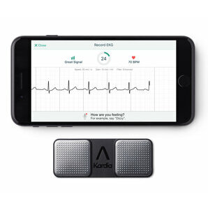 AliveCor Kardia Mobile EKG Monitor - Instant EKG on Your Phone