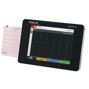 Schiller Cardiovit FT-1 ECG Device 2D touchscreen ECG colour display