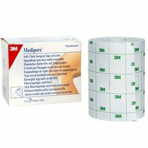 Medipore 3M non-woven multi-stretch plaster (Per unit)