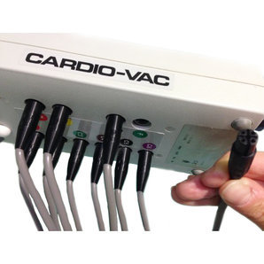 Complete set of plug-in electrodes for Cardio Vac Code Suction System